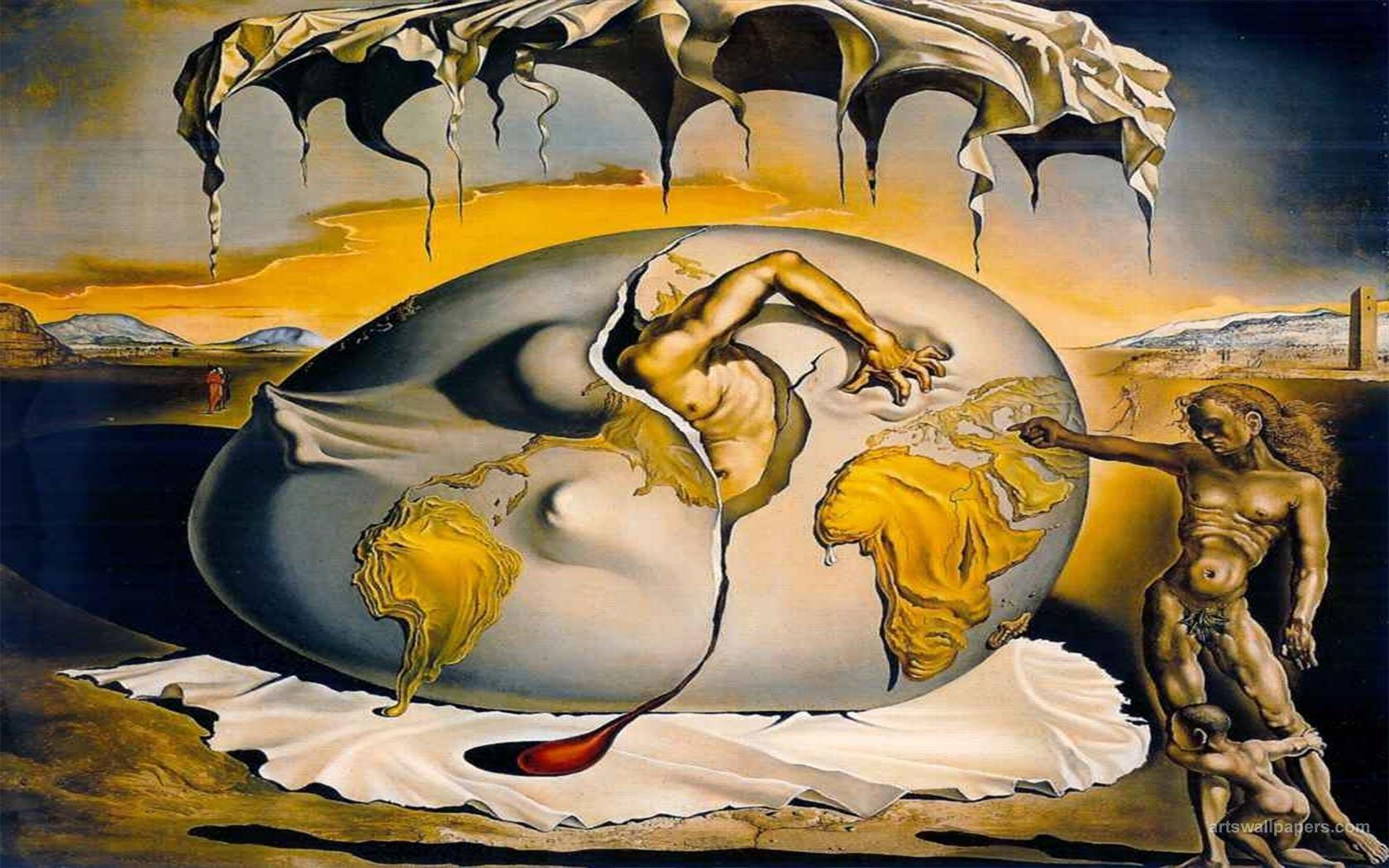 Dali Cuadros Salvador Dali Wallpapers Wallpaper Cave