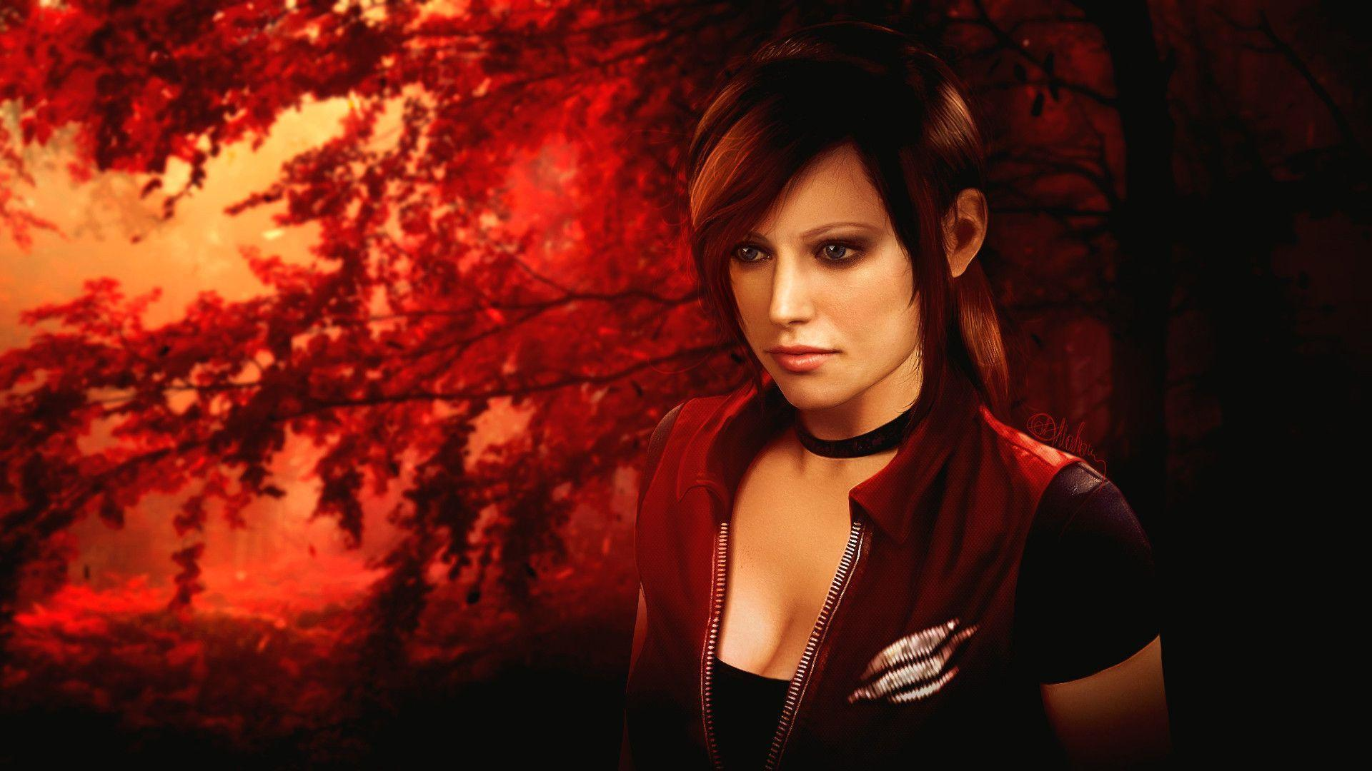 Leon S Kennedy Hd Wallpaper Claire Redfield Wallpapers Wallpaper Cave