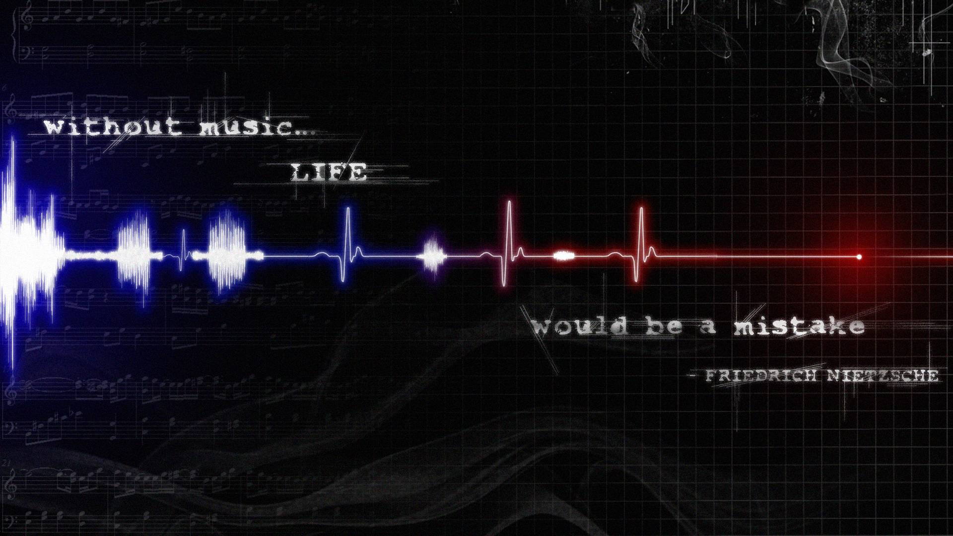 Musical Birthday Quotes Wallpapers Music Is Life Wallpapers Wallpaper Cave
