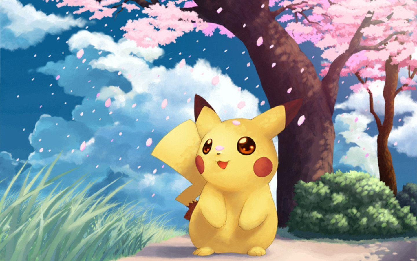Download pokemon art wallpaper 1440x900 full hd wallpapers