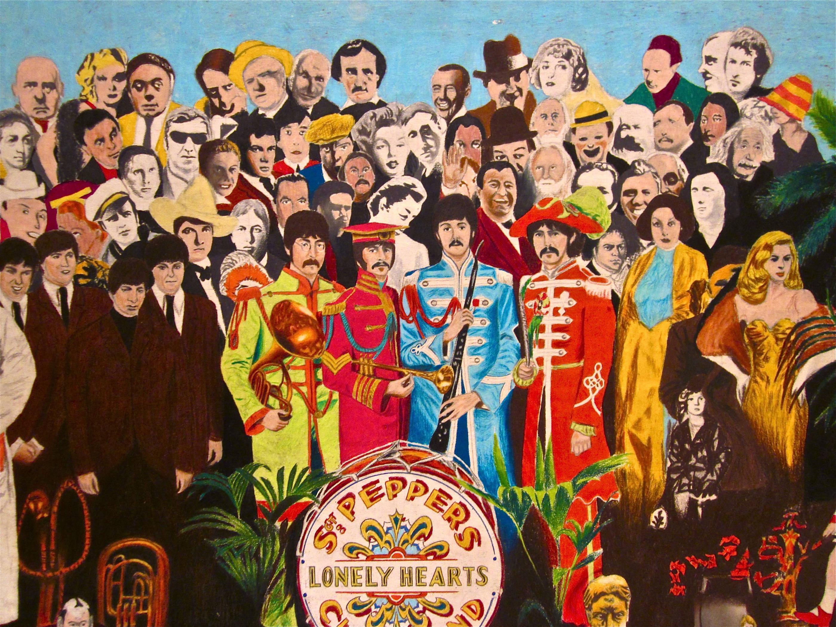 Paul George Wallpaper Hd Sgt Pepper Wallpapers Wallpaper Cave