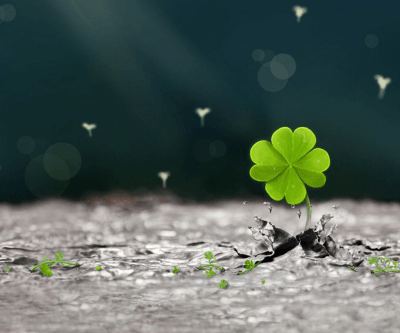 Four Leaf Clover Wallpapers - Wallpaper Cave