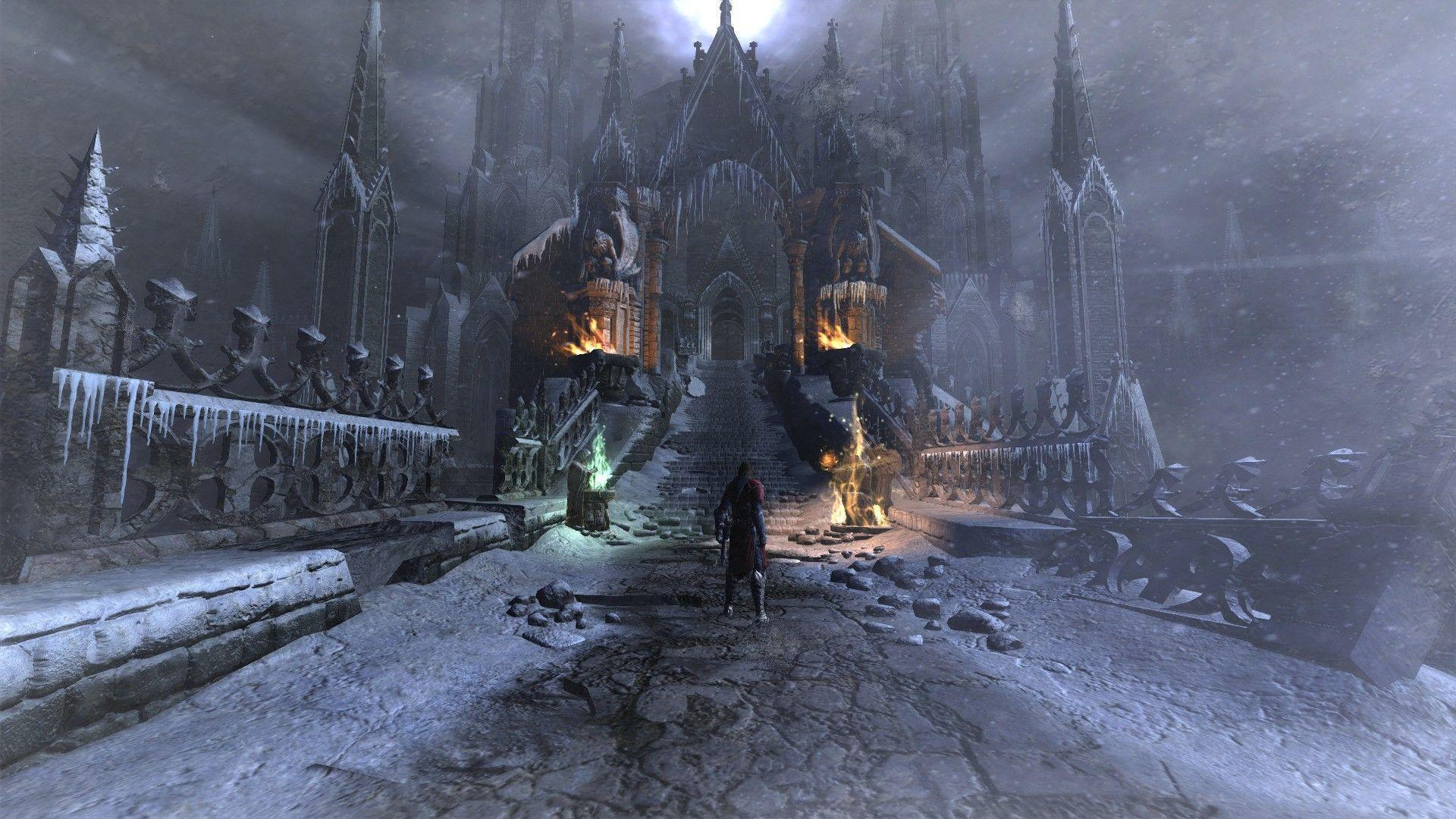 Horror Hd Wallpapers For Laptop Castlevania Backgrounds Wallpaper Cave