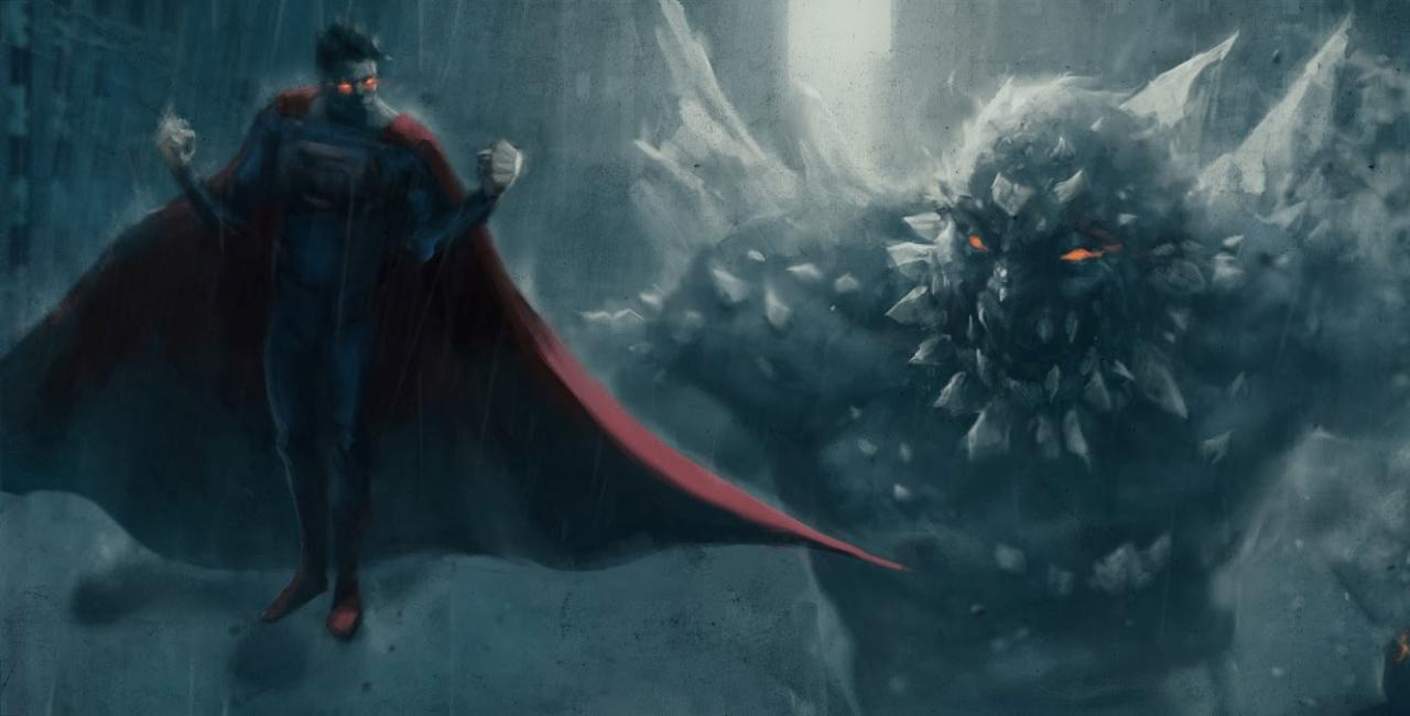 Android 3d Engine Live Wallpaper Superman Vs Doomsday Wallpapers Wallpaper Cave