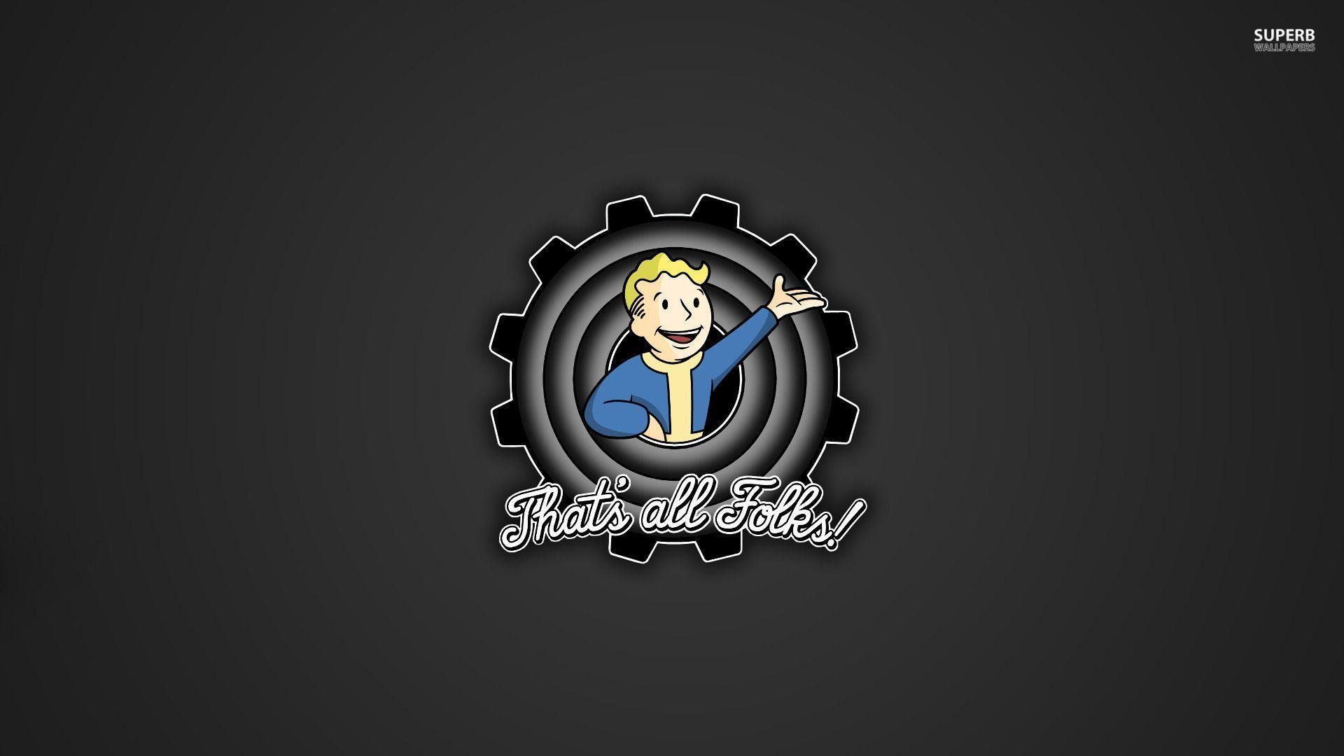 Fall Out Boy Logo Iphone Wallpaper Vault Boy Wallpapers Wallpaper Cave