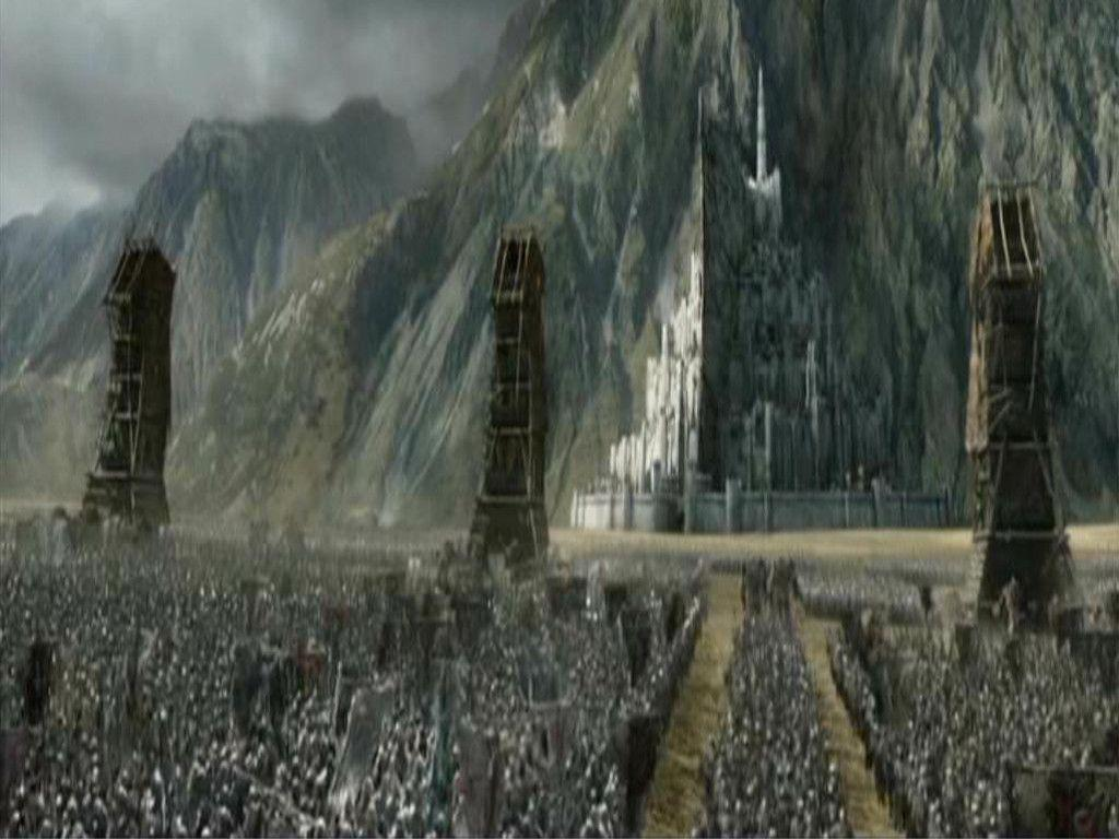 Wallpaper Hd Lord Of The Rings Minas Tirith Wallpapers Wallpaper Cave