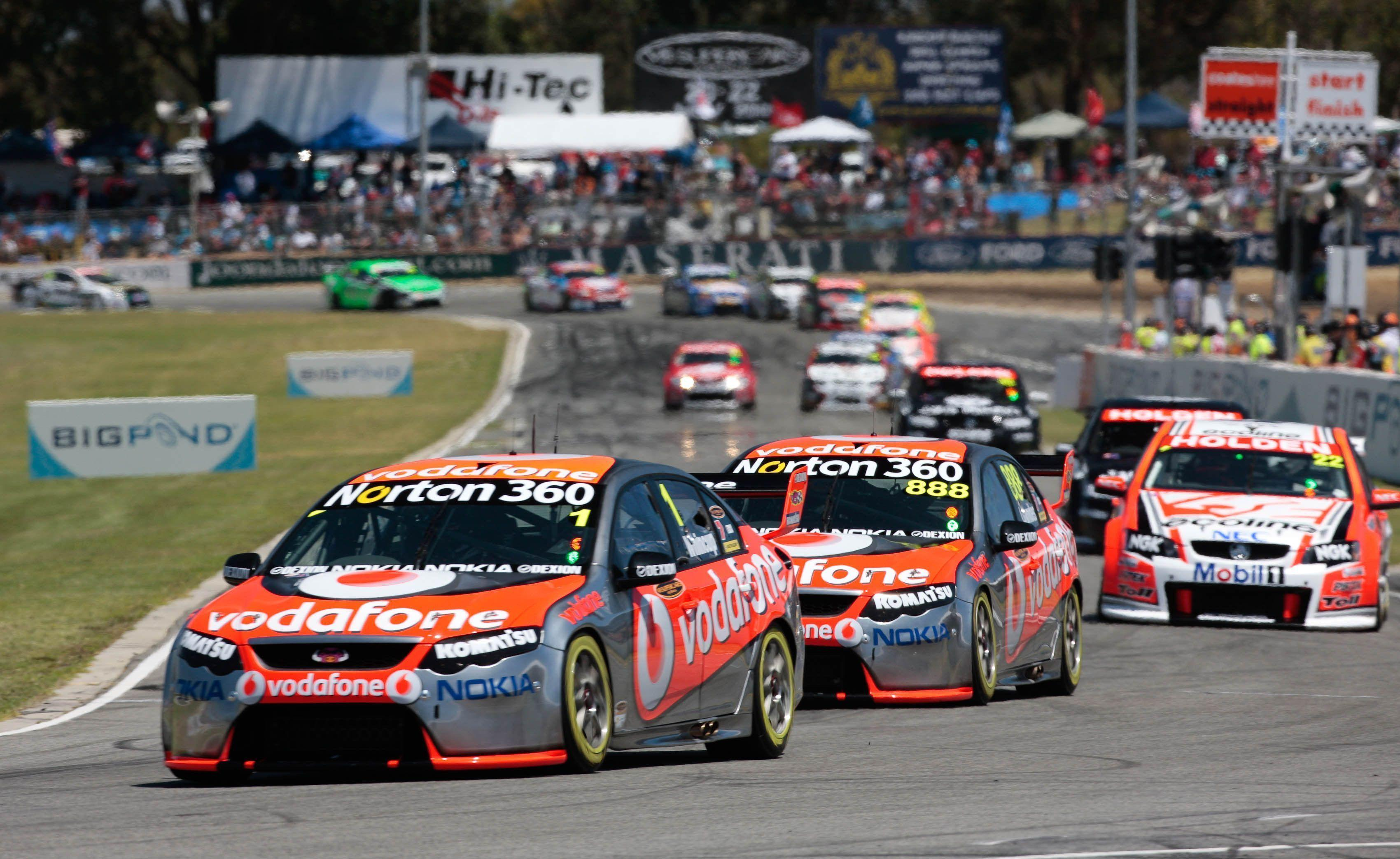 Awesome Race Car Wallpapers V8 Supercars Wallpapers Wallpaper Cave