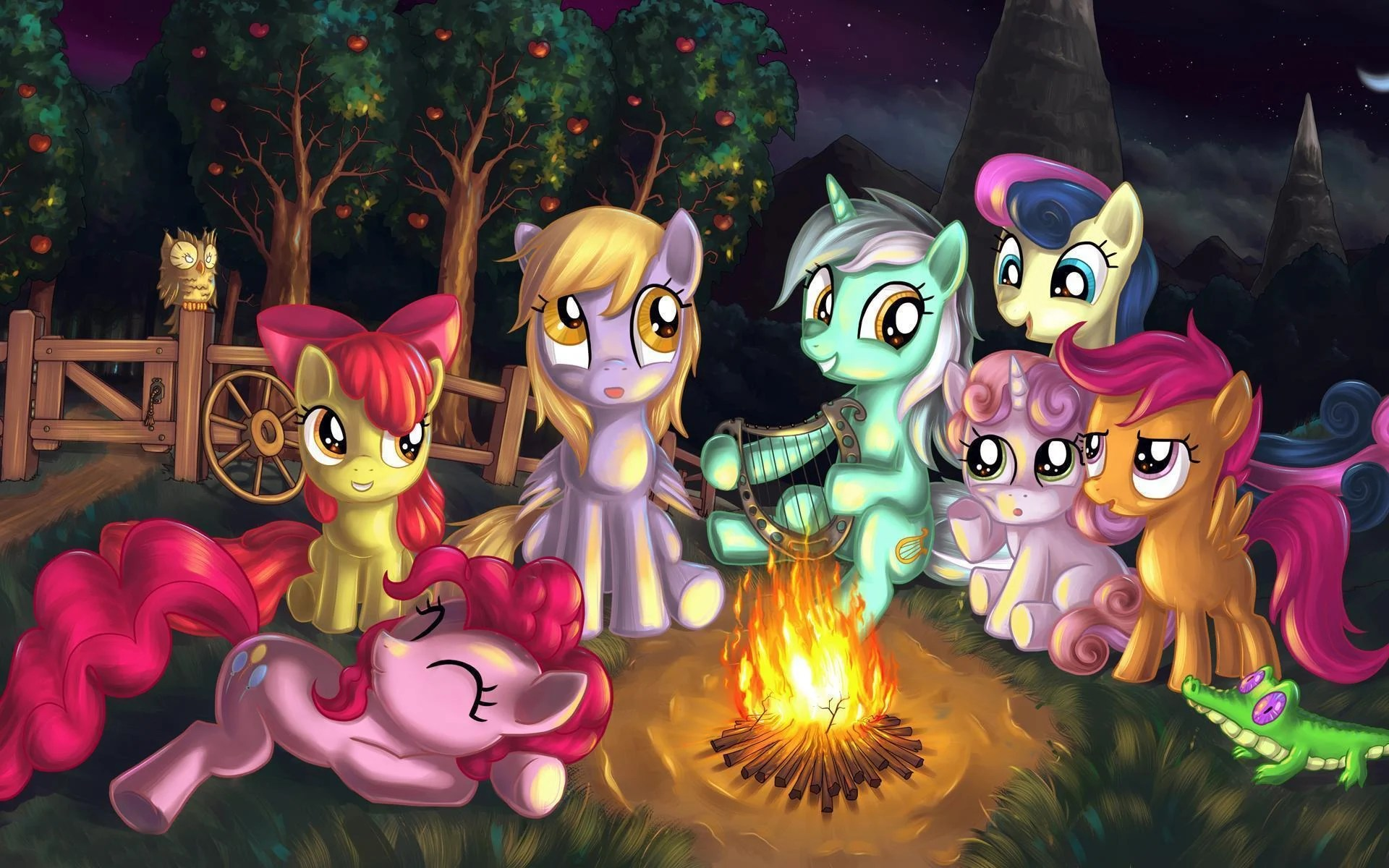 Anime Girl Angle Wallpaper 1366x768 My Little Pony Hd Wallpapers Wallpaper Cave