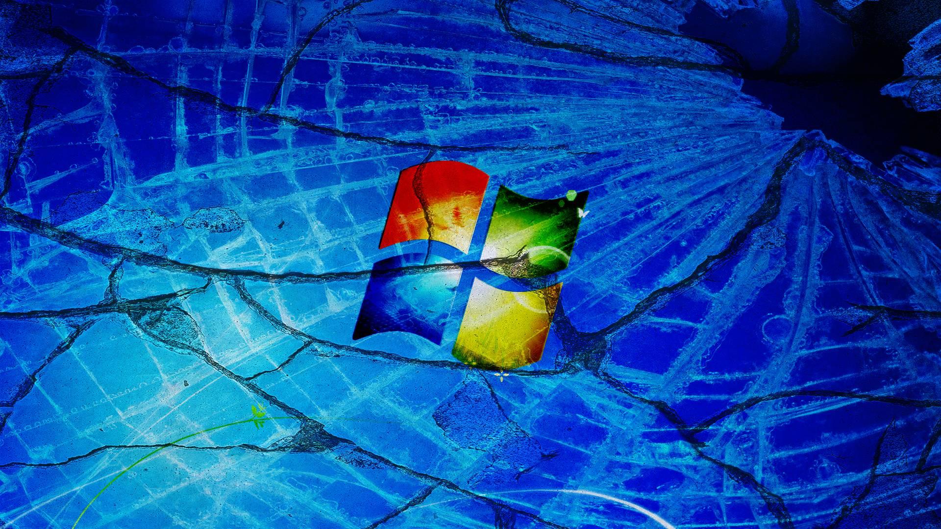 Dont Touch My Laptop Hd Wallpaper Broken Windows 7 Wallpapers Wallpaper Cave