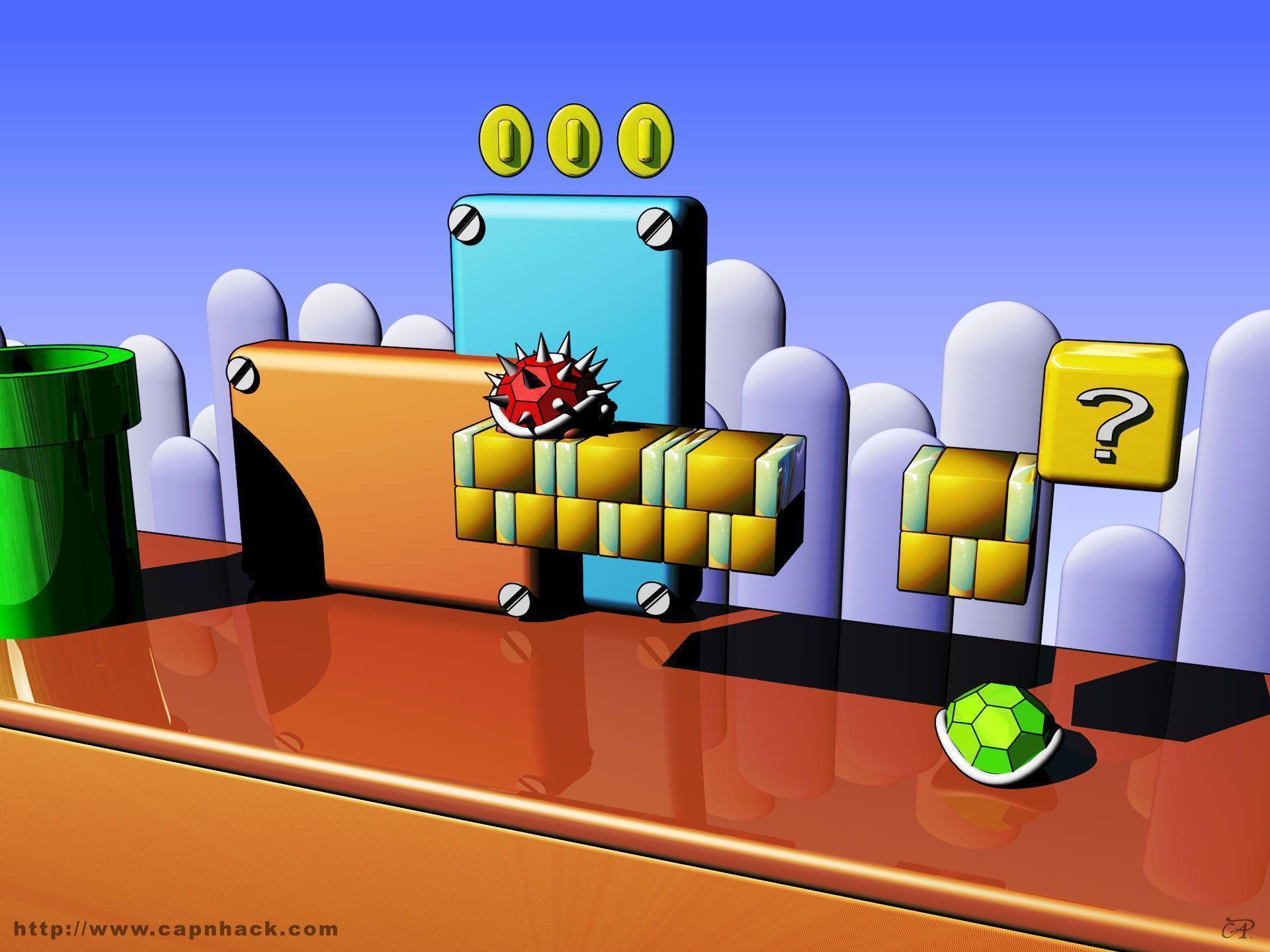 Fish Tank Wallpaper Hd Super Mario Backgrounds Wallpaper Cave