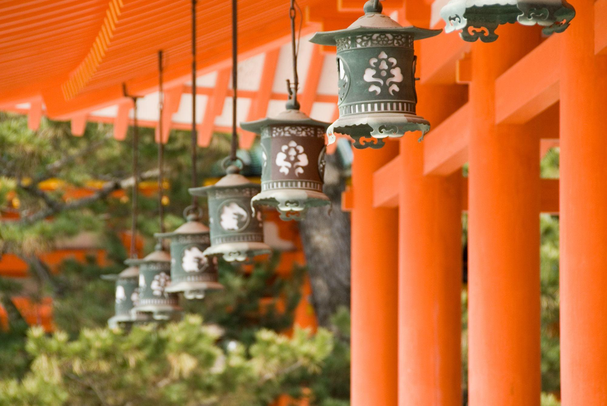 Lanterns Wallpaper Hd Kyoto Wallpapers Wallpaper Cave