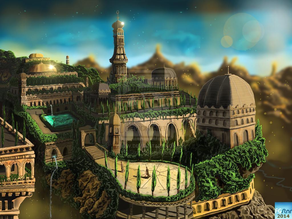 Download 3d Wallpaper Apk Download Hanging Gardens Of Babylon Wallpaper Gallery