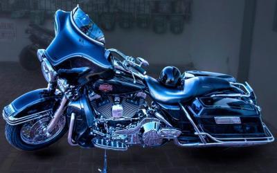 Harley Davidson 3D Wallpapers - Wallpaper Cave