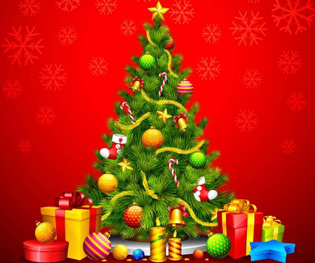christmas tree wallpaper backgrounds pictures