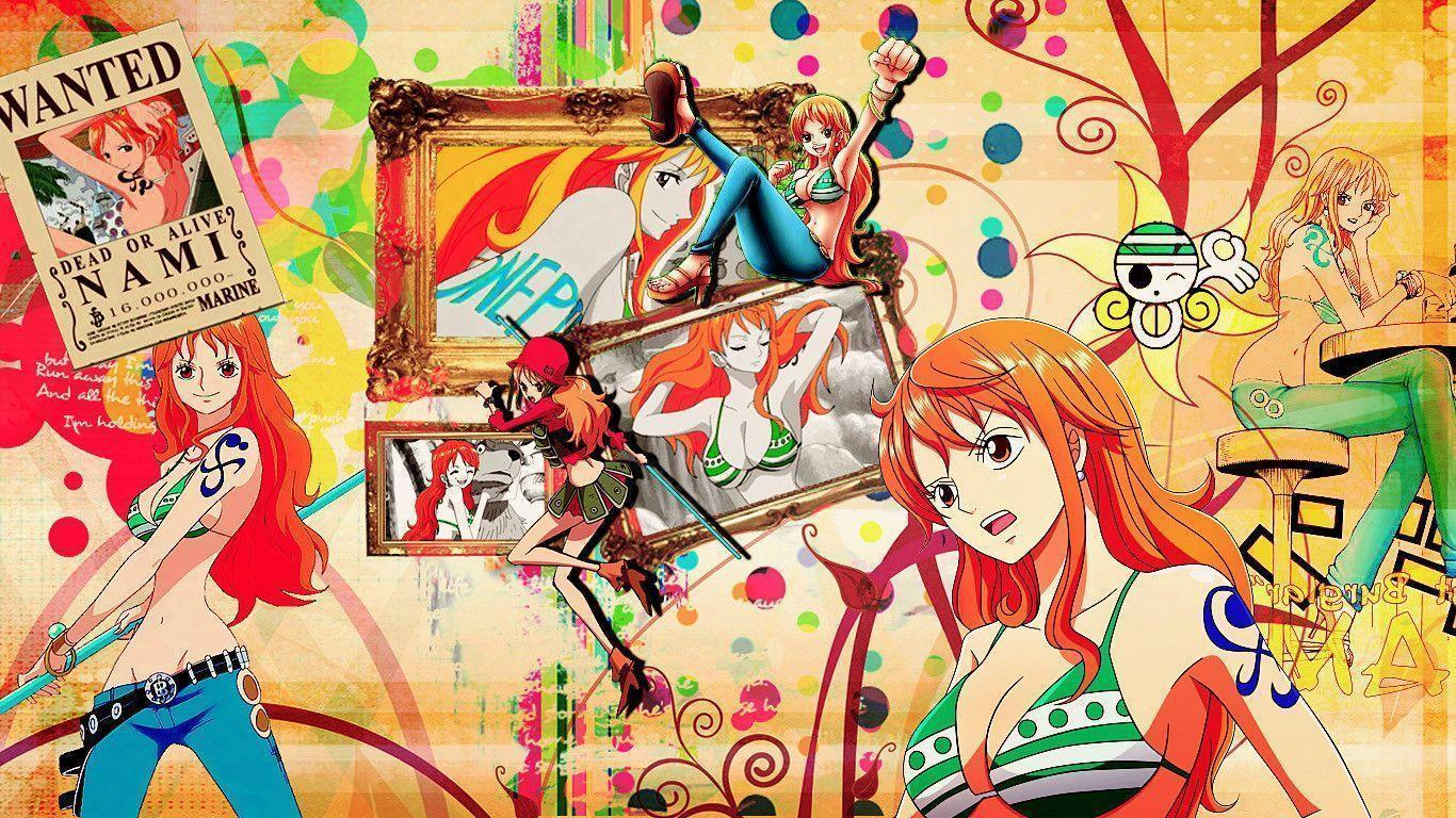 Wallpaper One Piece 3d For Android Nami Wallpapers Wallpaper Cave