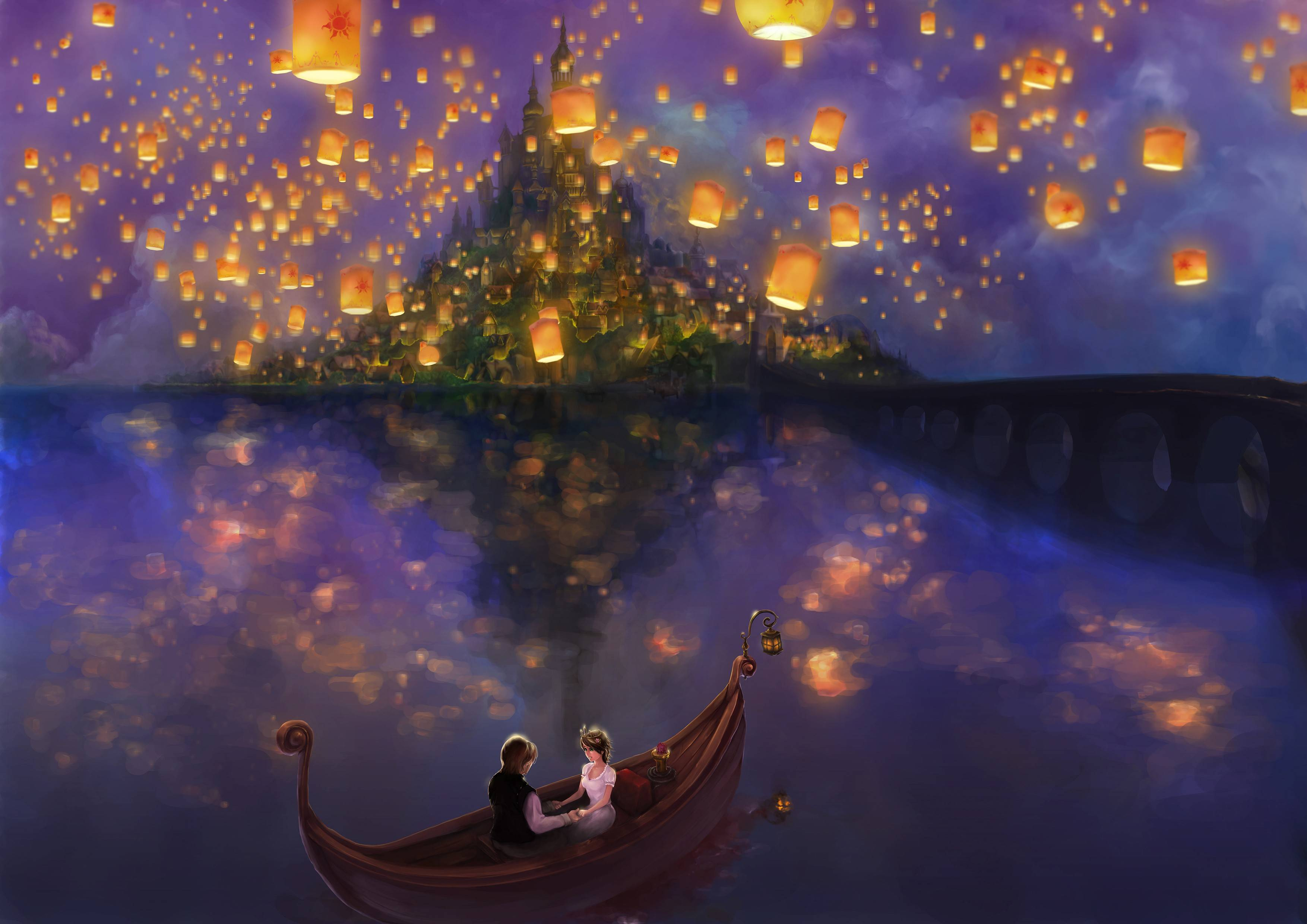 Sky Lanterns Wallpaper Iphone Disney Tangled Wallpapers Wallpaper Cave