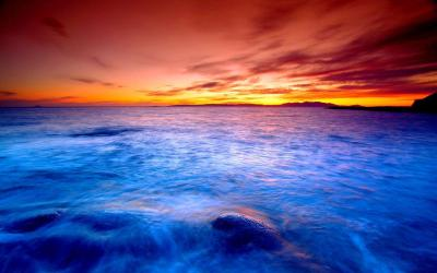 Ocean Sunset Wallpapers - Wallpaper Cave