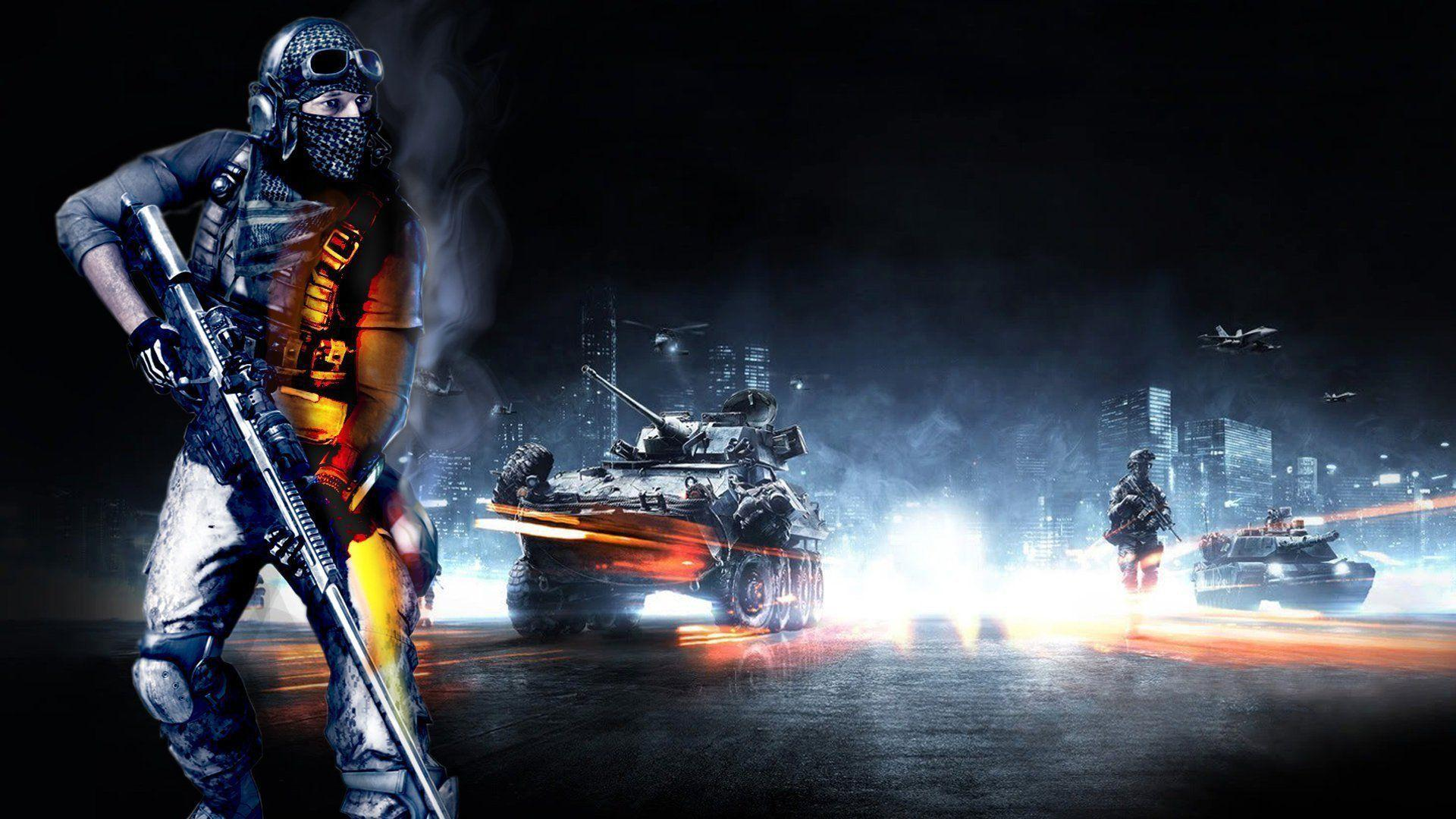 Awesome Wallpapers Girl Sniper Battlefield 3 Wallpapers 1080p Wallpaper Cave