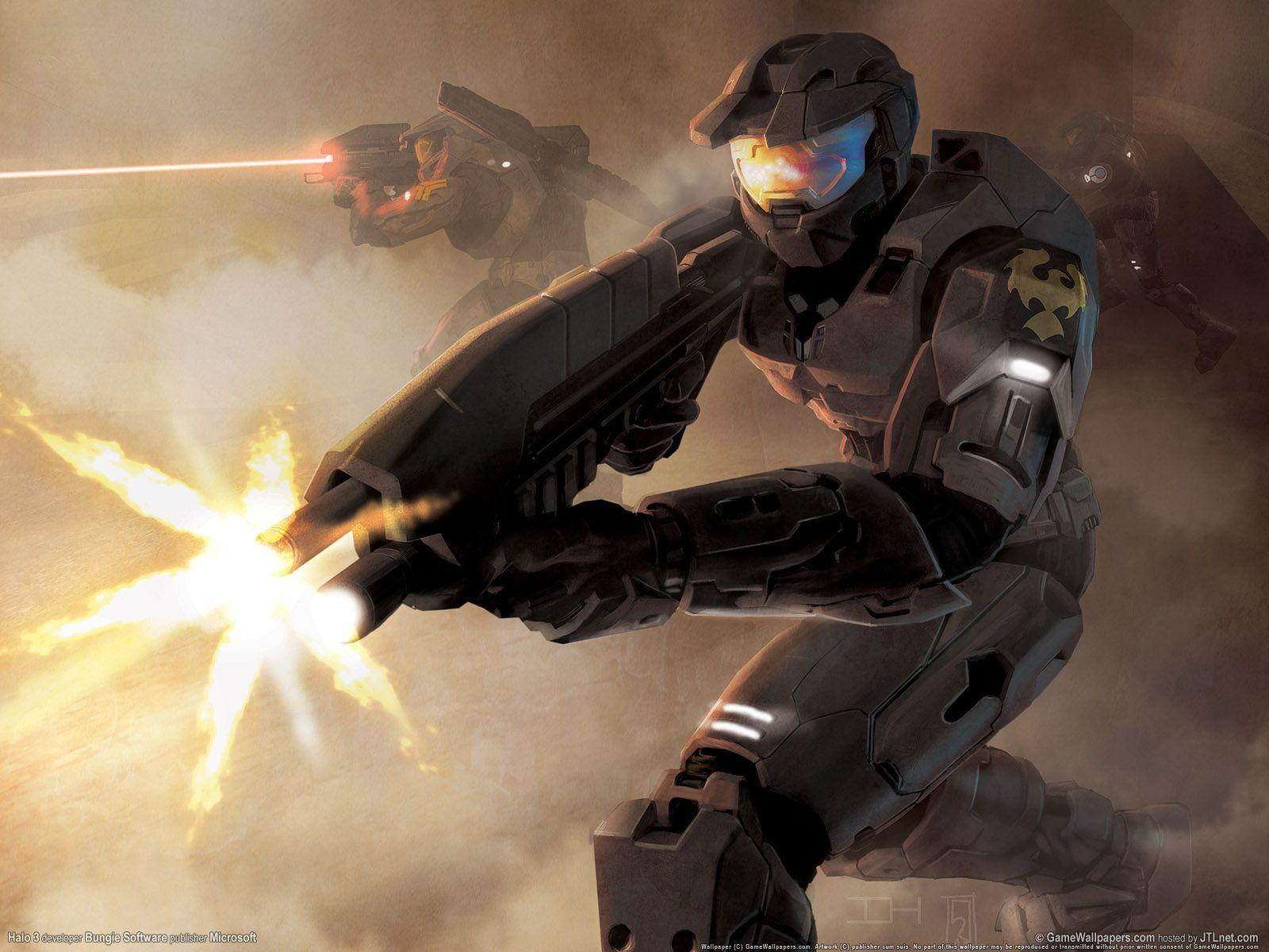 Halo Wallpaper Fall Of Reach Halo 3 Master Chief Wallpapers Wallpaper Cave