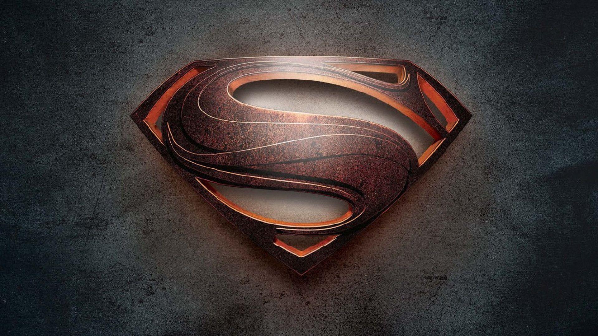 Superman logo wallpaper hd man of steel 1080p genovic