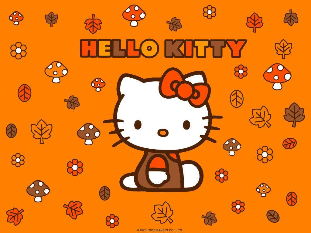 Free Fall Cat Wallpaper Hello Kitty Desktop Backgrounds Wallpapers Wallpaper Cave