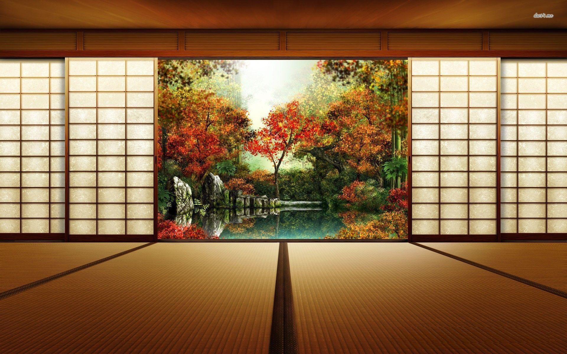 Cartoon Fall Wallpaper High Def Japanese Art Wallpapers Wallpaper Cave