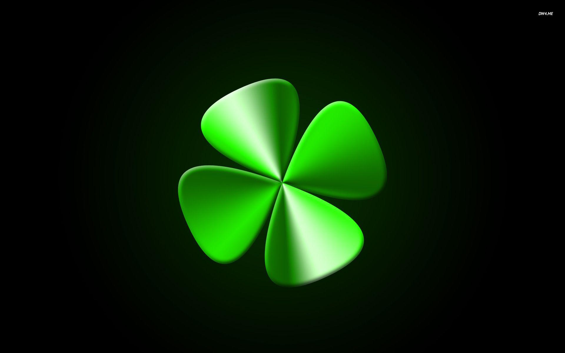 St Patricks Day Wallpaper Iphone 6 Four Leaf Clover Wallpapers Wallpaper Cave