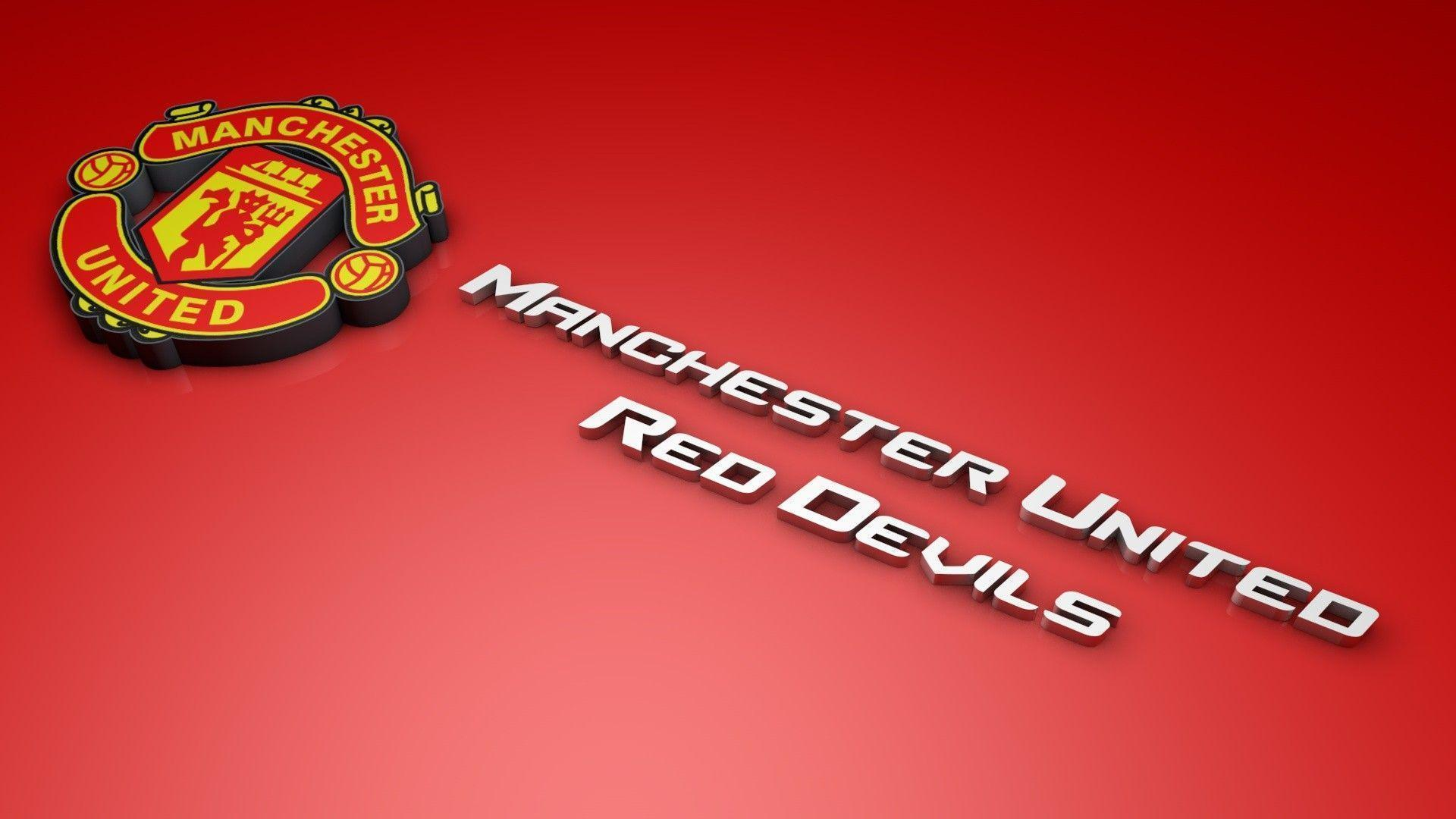 Manchester United Logo Wallpaper 3d Manchester United Logo Wallpapers Wallpaper Cave