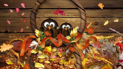 Fall Thanksgiving Wallpapers - Wallpaper Cave