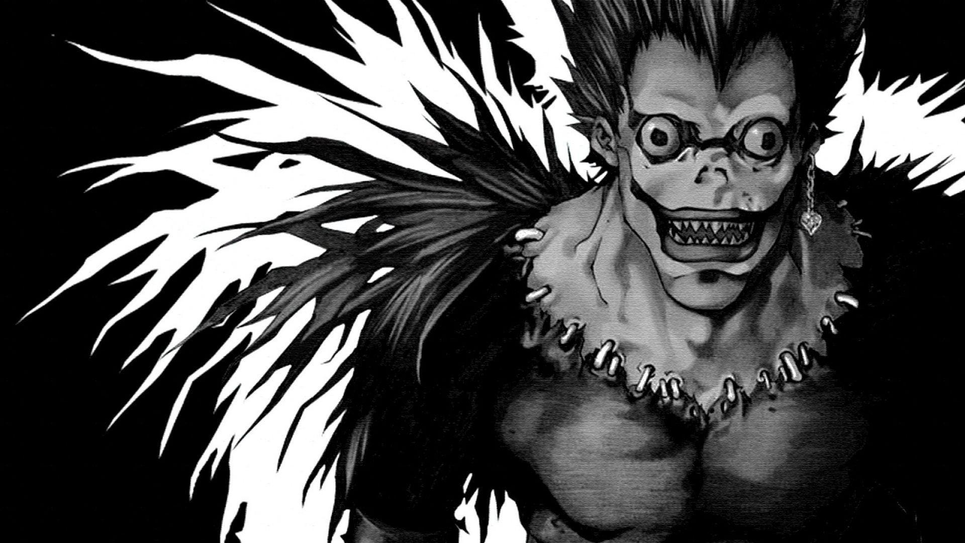Death Note Libro Ryuk Wallpapers Wallpaper Cave