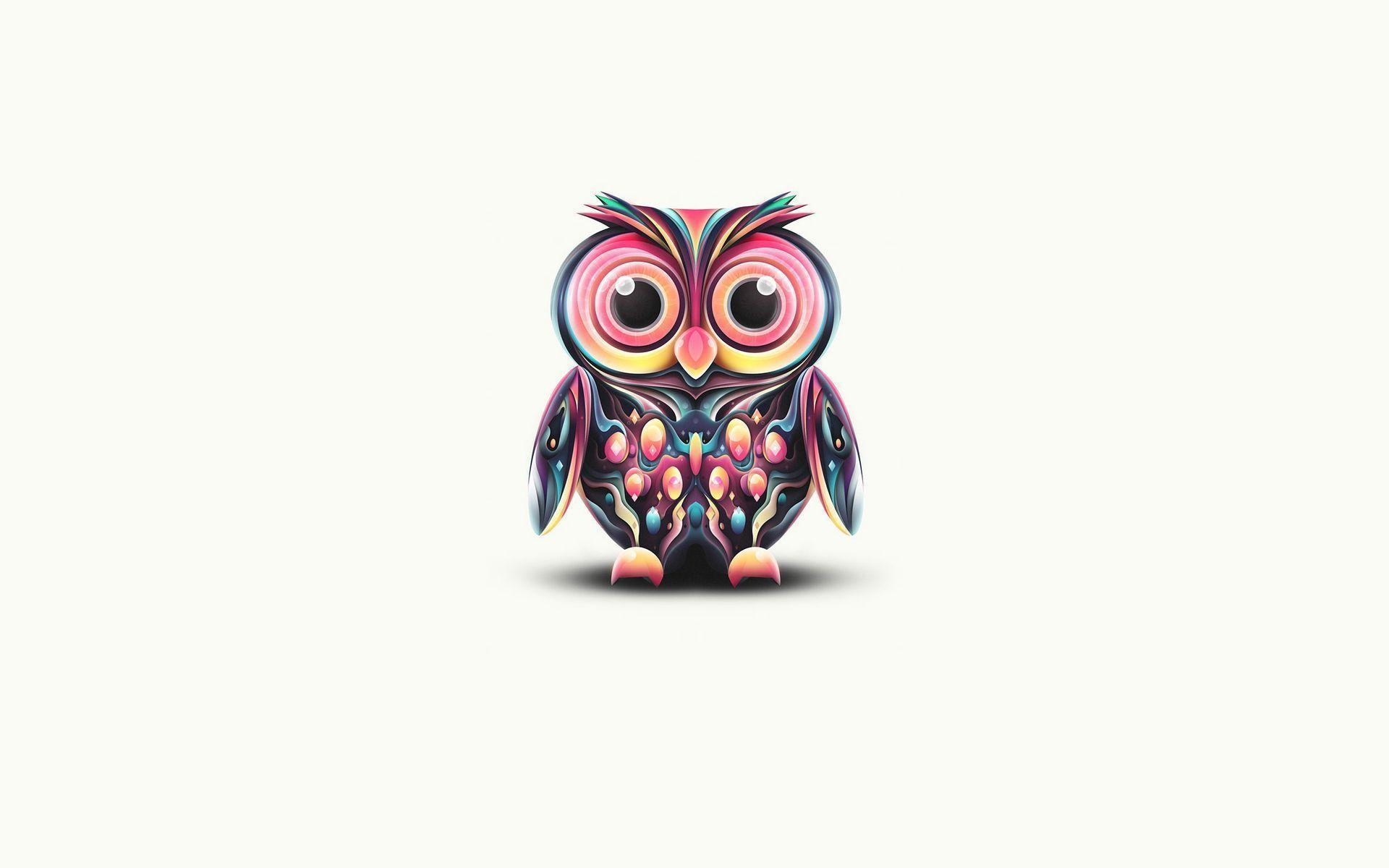 Colorful Pictures Of Owls Free Owl Wallpapers Wallpaper Cave