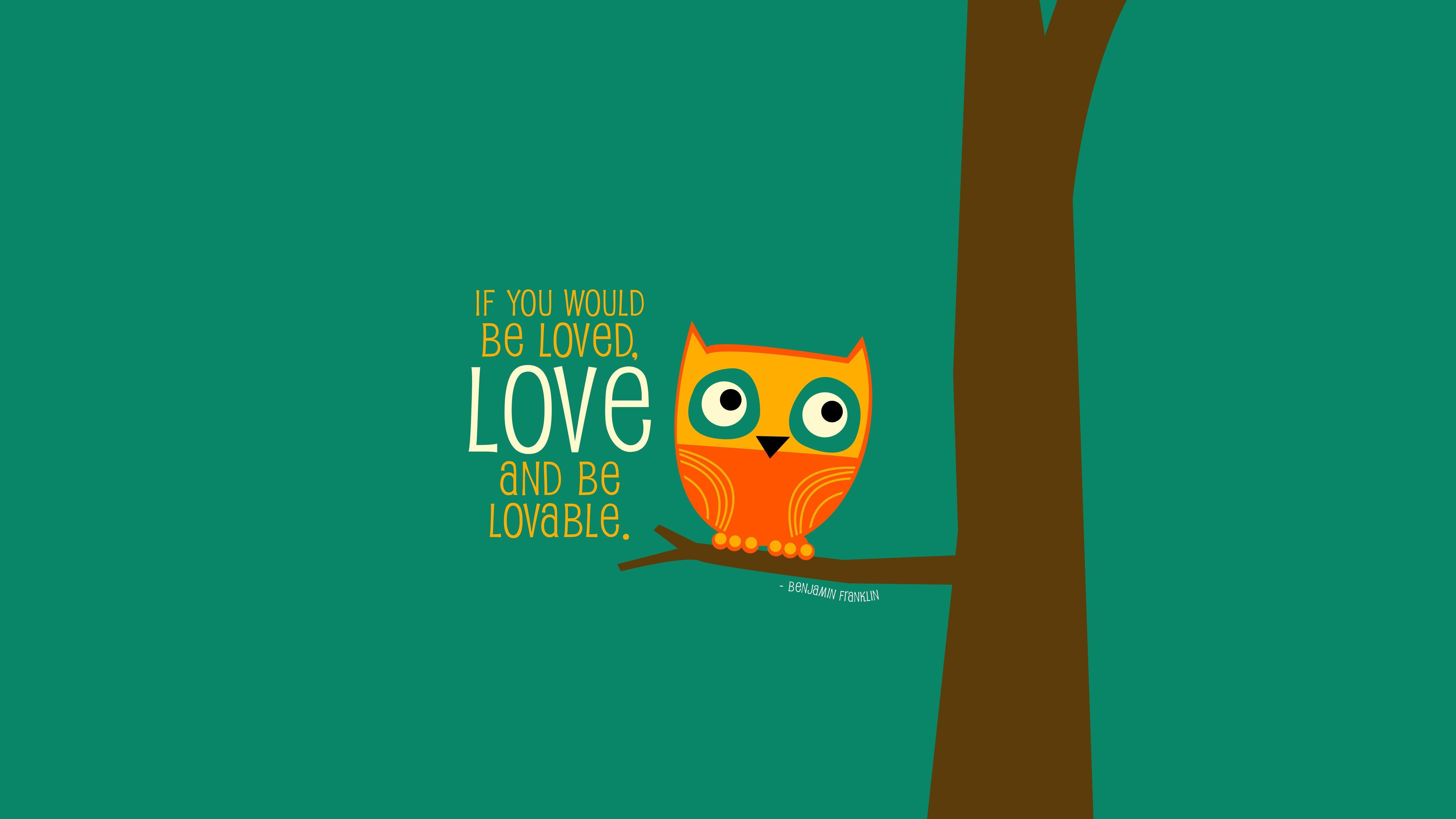 Cute Trendy Wallpapers Quotes Owl Desktop Wallpapers Wallpaper Cave
