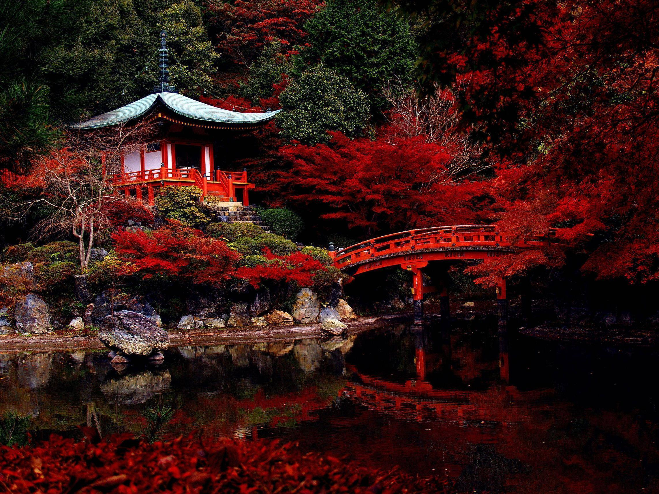 Wallpaper Japanischer Garten Japanese Garden Wallpapers Wallpaper Cave