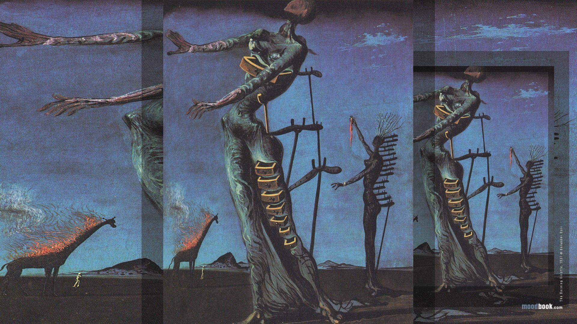 3d Illusion Wallpapers Hd Salvador Dali Desktop Wallpapers Wallpaper Cave