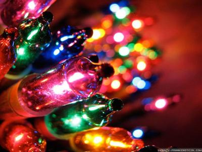 Christmas Lights Wallpapers - Wallpaper Cave