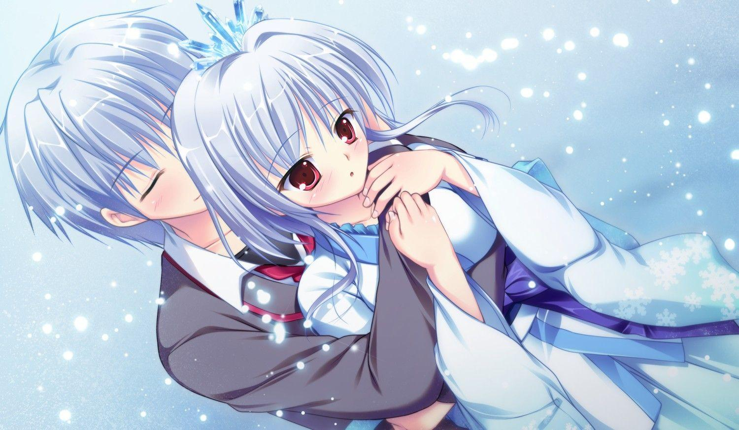 Loving Boy And Girl Hd Wallpapers Anime Love Wallpapers Wallpaper Cave