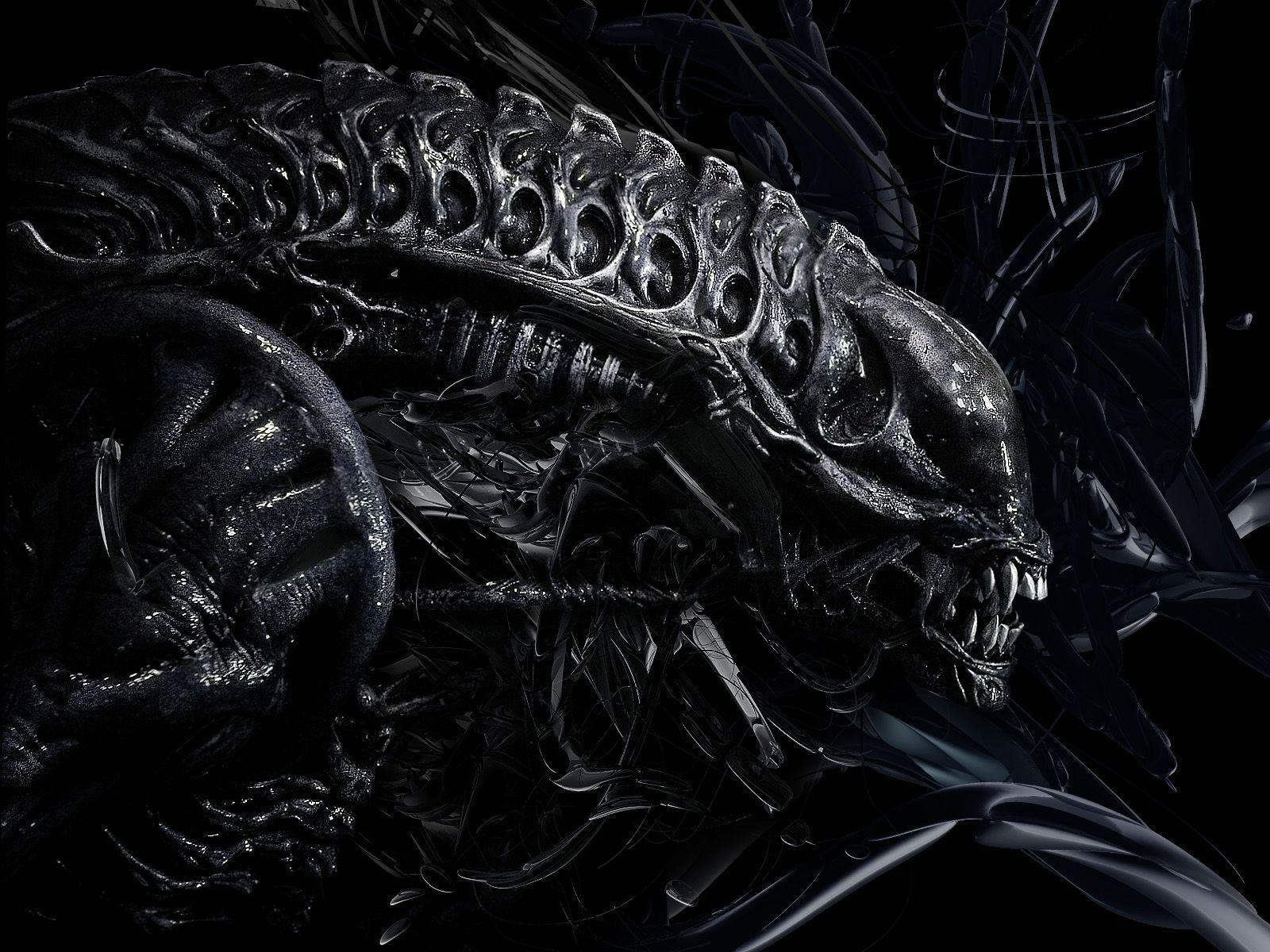 Alien Desktop Wallpaper Hd Alien Wallpapers Wallpaper Cave