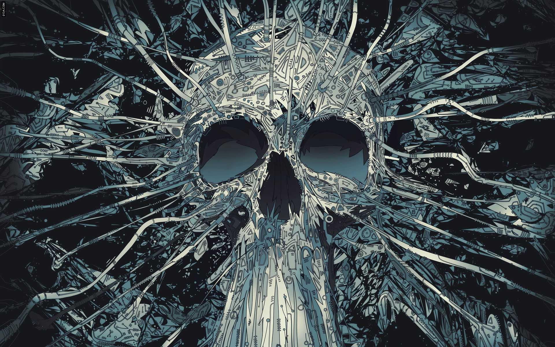 skull artwork wallpapers