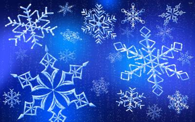 Snowflake Wallpapers - Wallpaper Cave