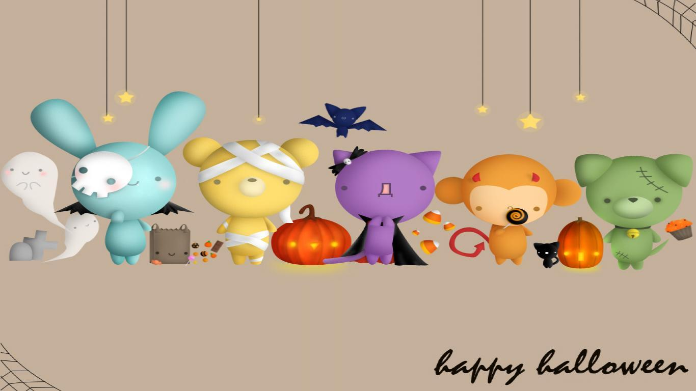 Winnie The Pooh Fall Desktop Wallpaper Cute Halloween Wallpapers Wallpaper Cave