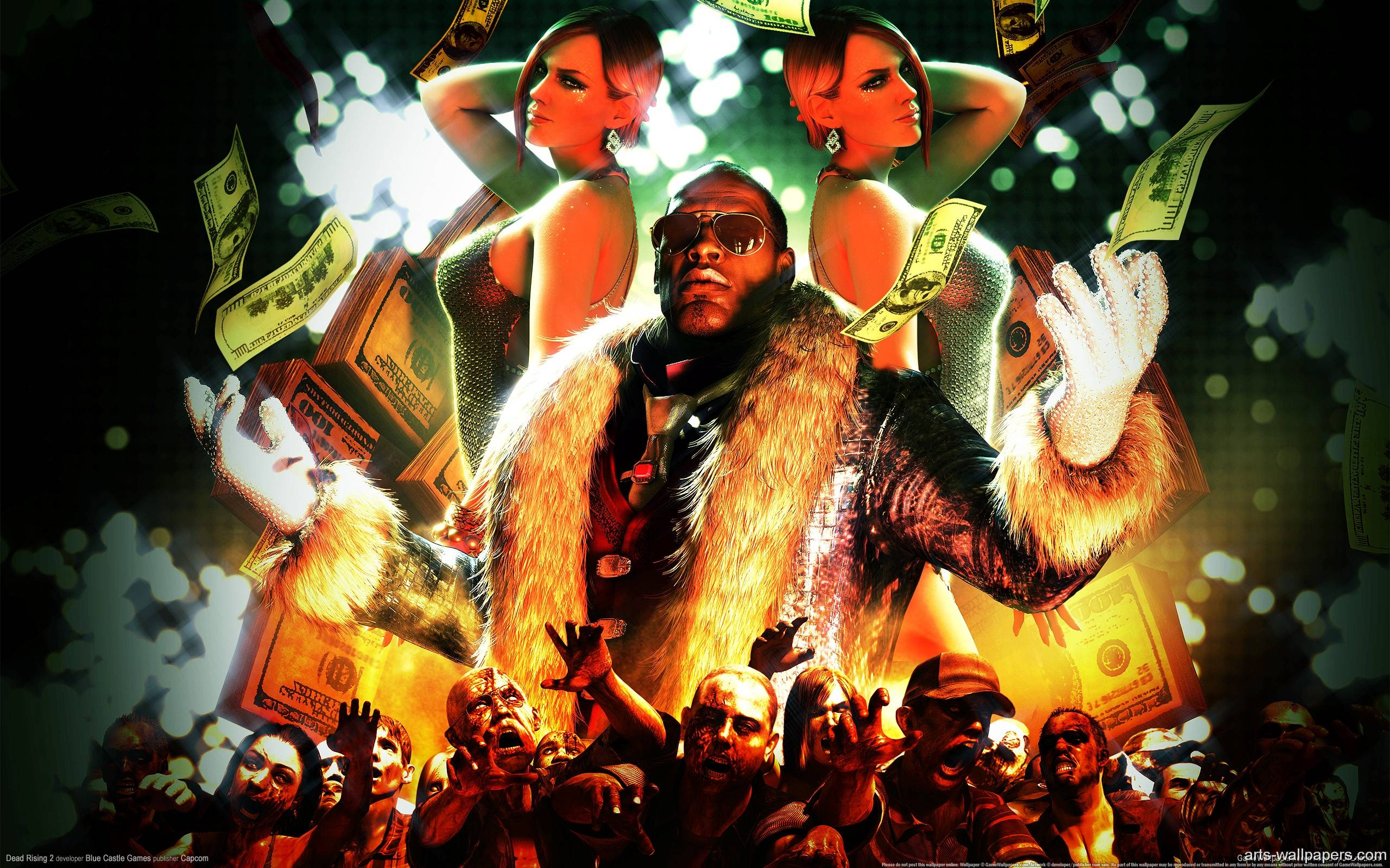 Awesome 3d Art Wallpapers Dead Rising 2 Wallpapers Wallpaper Cave