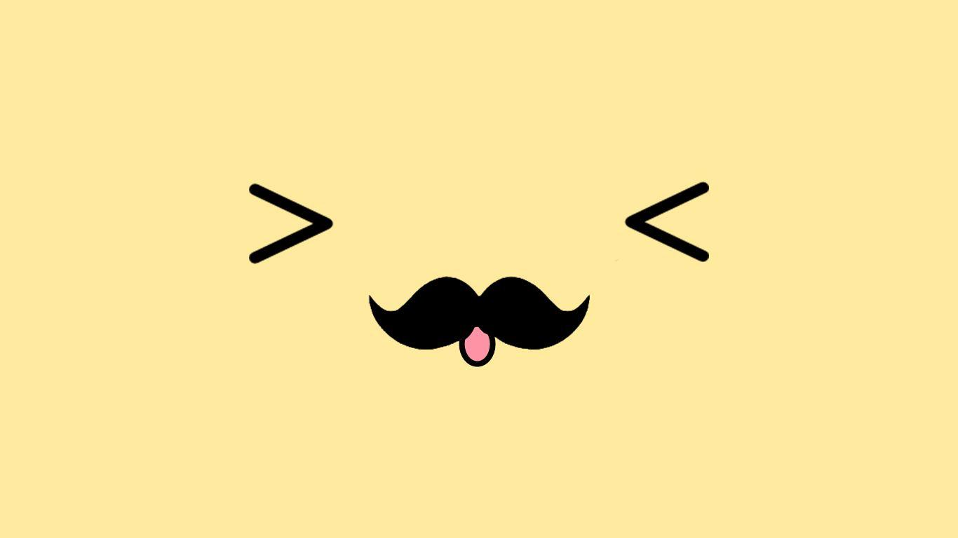Cute Wallpaper For Androids Mustache Wallpapers Wallpaper Cave