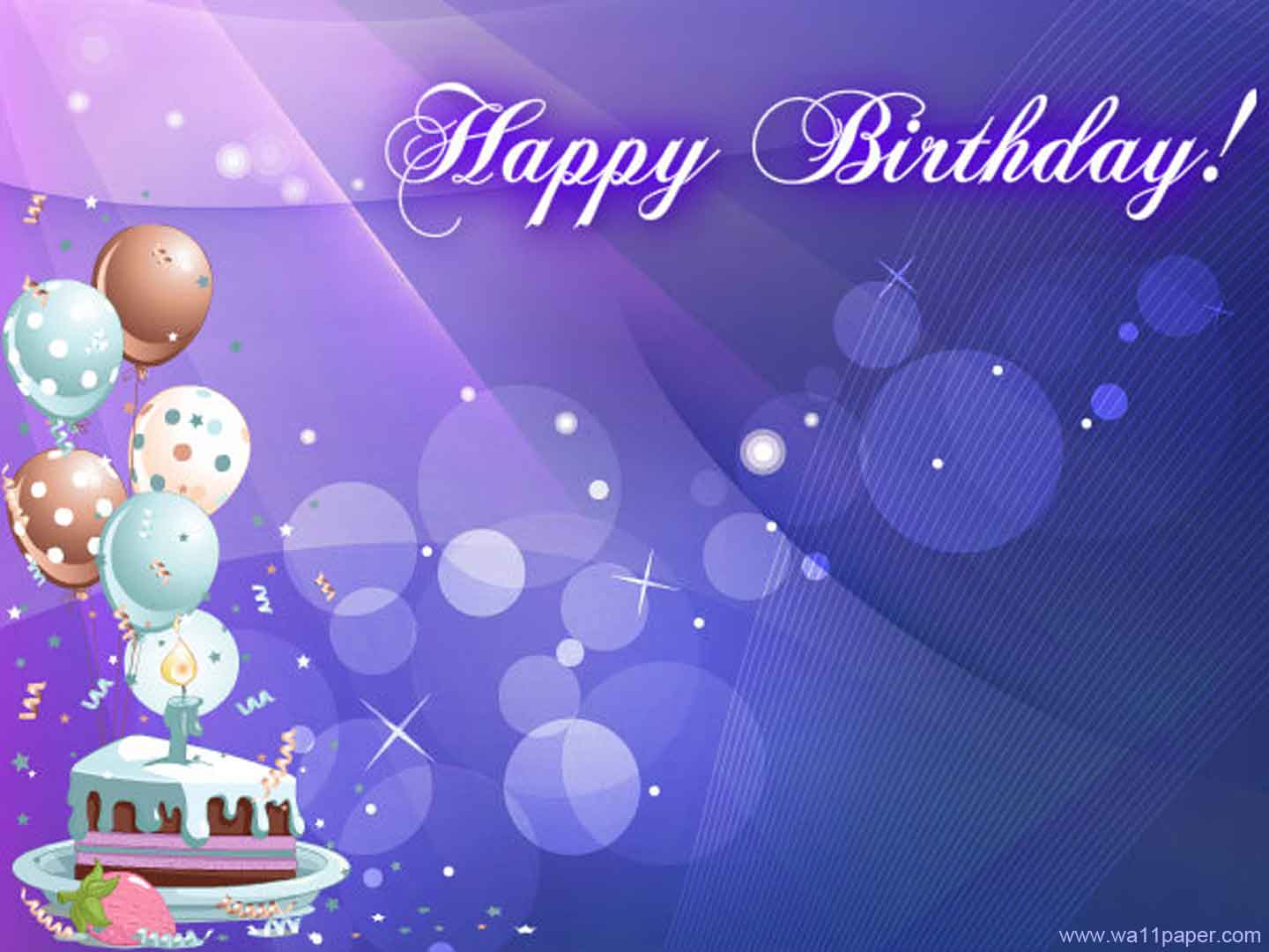 Images for blue birthday backgrounds wallpaper