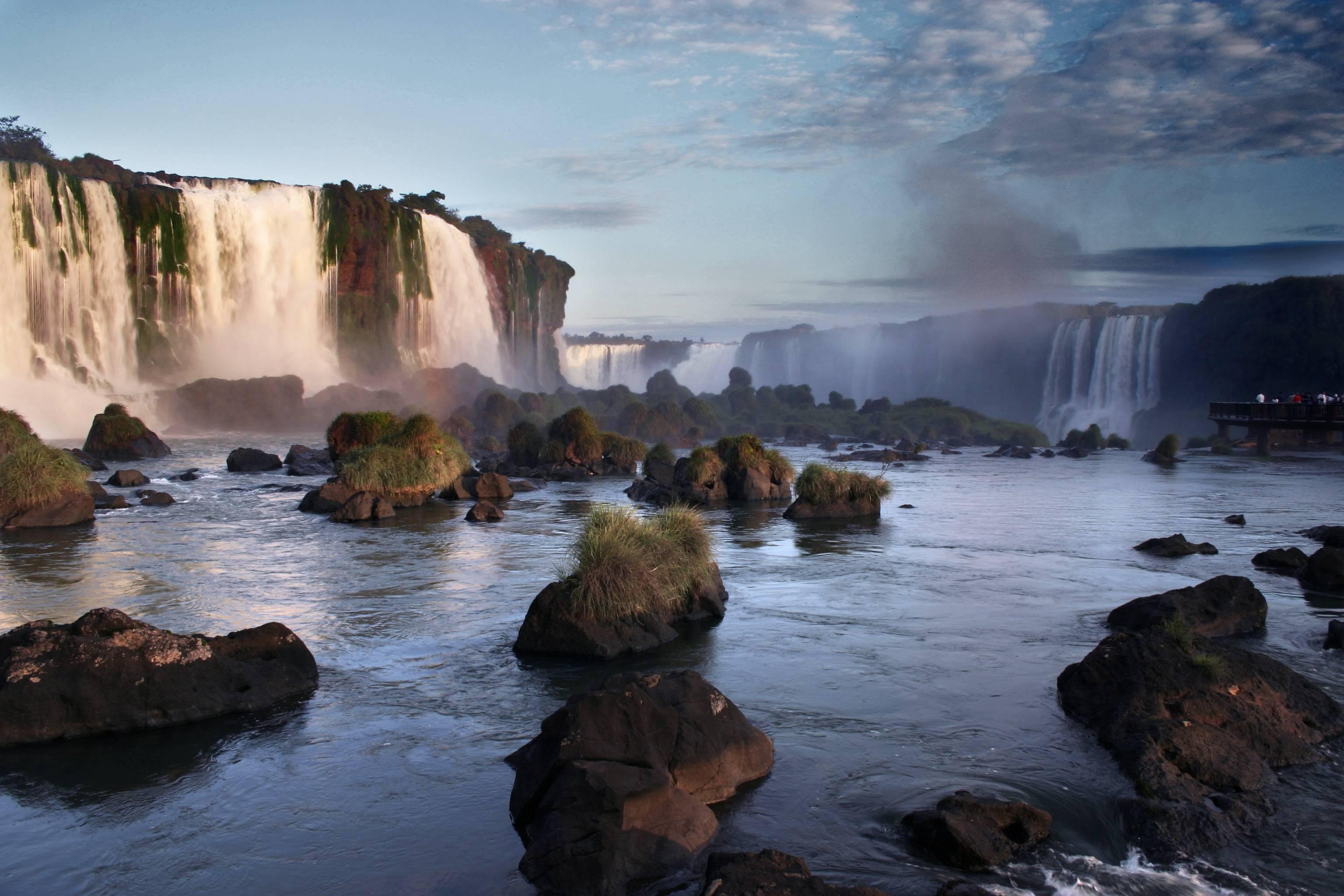 Iguazul Falls Wallpaper Iguazu Falls Wallpapers Wallpaper Cave