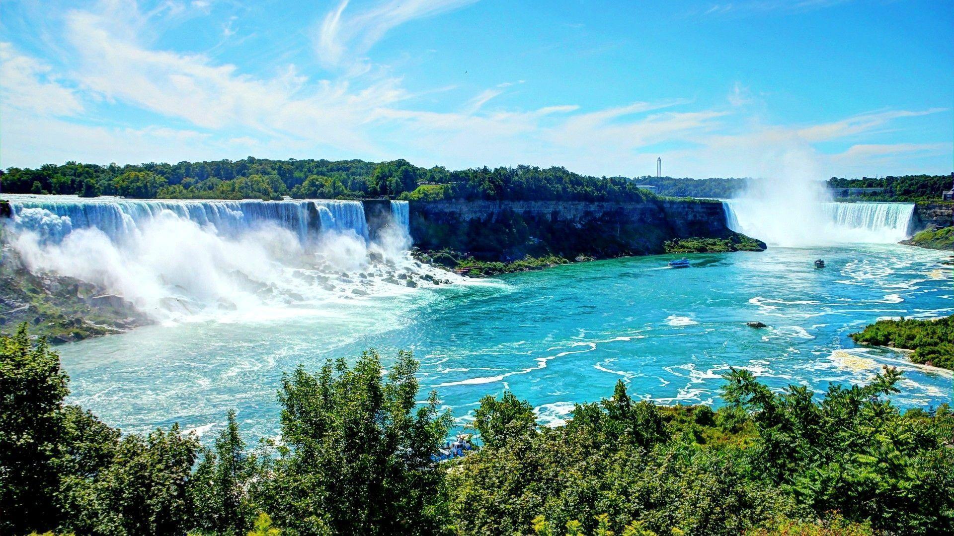 Niagara Falls Wallpaper 1366x768 Niagara Falls Wallpapers Wallpaper Cave
