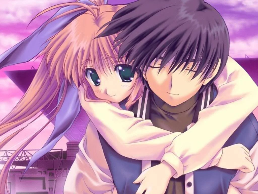 Cute Matching Computer Wallpapers Cute Anime Couple Wallpapers Wallpaper Cave