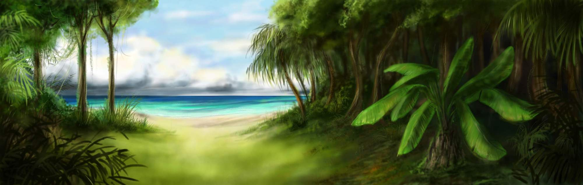 Animated Jungle Wallpaper Jungle Backgrounds Wallpaper Cave