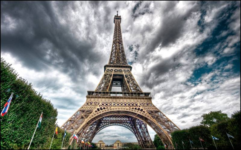 Large Of Eiffel Tower Wallpaper
