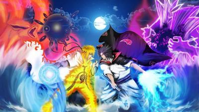 Naruto Vs Sasuke Wallpapers - Wallpaper Cave
