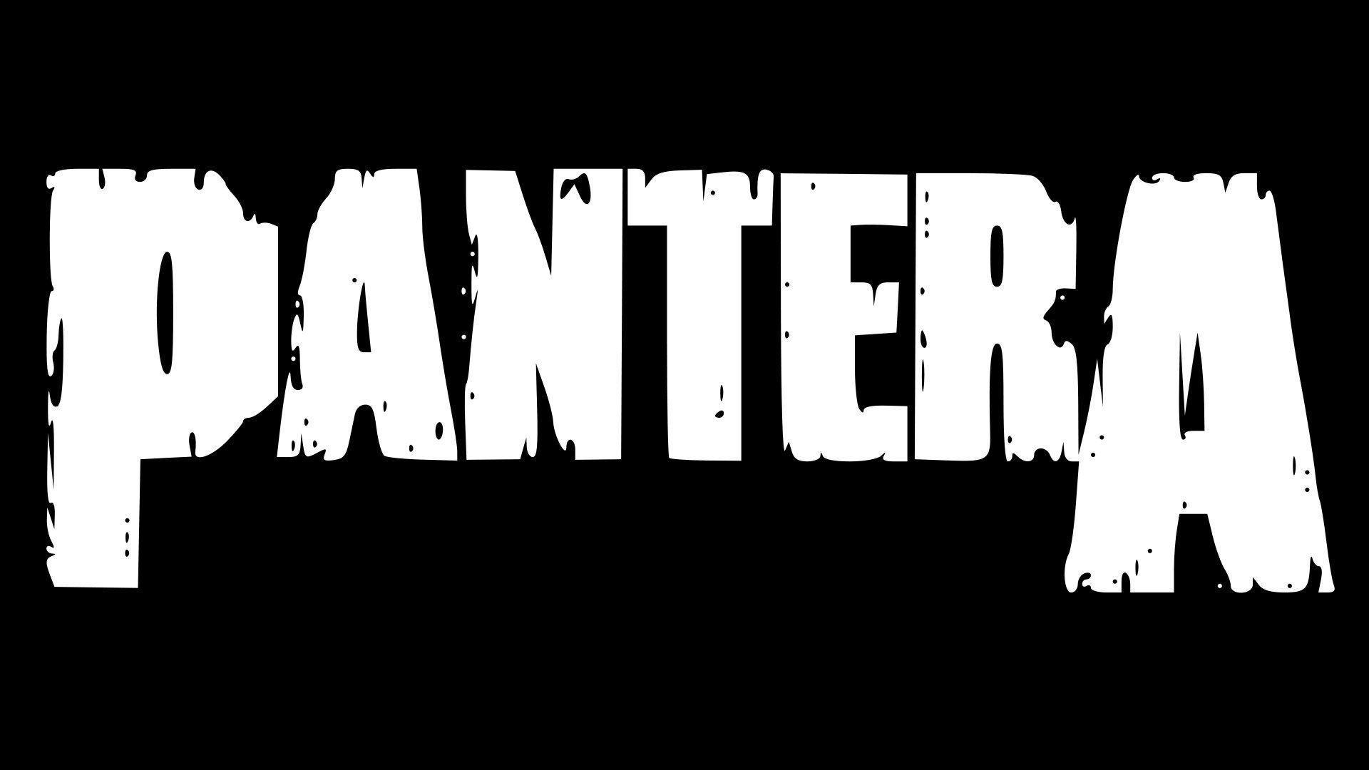 Pantera Wallpaper For Android Pantera Logo Wallpapers Wallpaper Cave